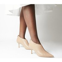 Office Macs Pointed Shoeboot NUDE LEATHER
