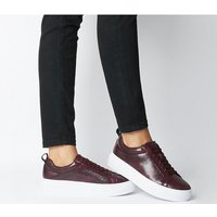 Vagabond Zoe Platform Sneaker WINE EMBOSSED LEATHER