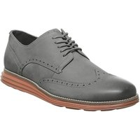 shop for Cole Haan W Original Grand Wingtip Oxford WOODBERRY BROWN AND IVORY at Shopo