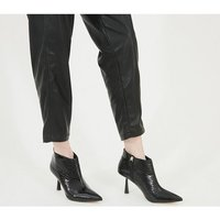 shop for Office Members Only - Feature Heel Shoeboot BLACK CROC PU at Shopo