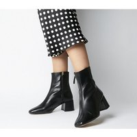 Office Aloof - Smart Boot BLACK LEATHER