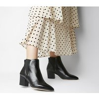 shop for Office Alamo - Chelsea Boot BLACK LEATHER at Shopo