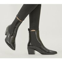 shop for Vagabond Shoemakers Betsy Heel Chelsea BLACK CROC at Shopo