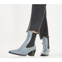 shop for Vagabond Betsy Heel Chelsea DUSTY BLUE at Shopo