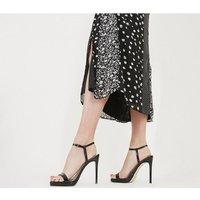 shop for Office Harri Platform Sandal BLACK PATENT LEATHER at Shopo