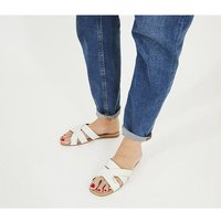 Office Stella - Mixed Material Mule WHITE