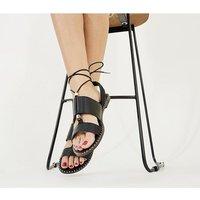 Office Summerside - Tie Sandal BLACK