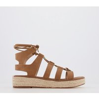 Office Maximus- Ghille Espadrille TAN