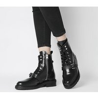 All Saints Donita Polido Boot BLACK