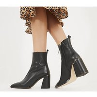 shop for Office Attraction - Smart Boot BLACK LEATHER at Shopo