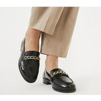 Office Furfill - Chain Loafer BLACK LEATHER