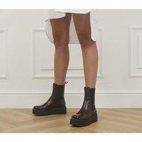 Vagabond Shoemakers Tara High Boots BROWN PATENT