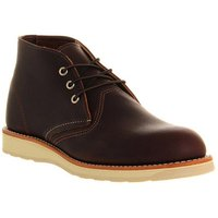 shop for Redwing Work Chukka boots BROWN LEATHER at Shopo