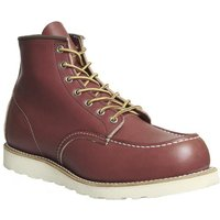 shop for Redwing Work Wedge boots RED LEATHER at Shopo