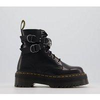 shop for Dr. Martens Jadon Hardware Boots BLACK at Shopo
