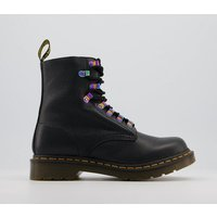 shop for Dr. Martens 1460 Iridescent Hardware Boots BLACK at Shopo