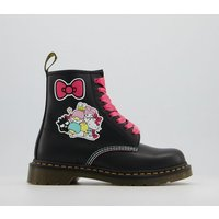 shop for Dr. Martens 1460 Hello Kitty & Friends Boots BLACK at Shopo