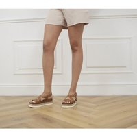 shop for Office Marija Wedges TAN LEATHER at Shopo