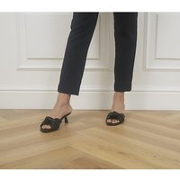 shop for Office Makeover Knot Mules BLACK at Shopo
