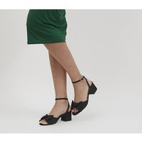 shop for Office Maybe-baby Bow Block Heels BLACK at Shopo