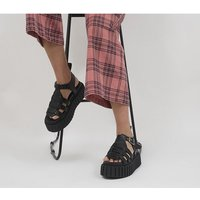 Lamoda Exile Chunky Sandals BLACK