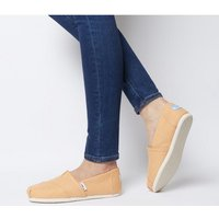shop for Toms Seasonal Classic Slip On MIST ORANGE at Shopo