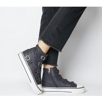 Ash Virgin High Top GRAPHITE LEATHER