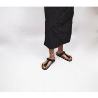 shop for Birkenstock Toe Thong Footbed BLACK at Shopo