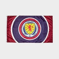 Official Team Scotland FA Bullseye Flag - Navy - Mens 004695
