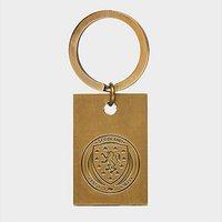 Official Team Scotland FA Vintage Keyring - Gold - Mens 004722