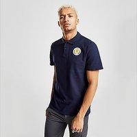 Official Team Scotland FA Polo Shirt - Blue - Mens 1227156