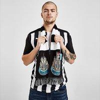 Official Team Newcastle United FC Bar Scarf - Black - Mens 204889