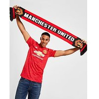 Official Team Manchester United Scarf - Red - Mens 292195