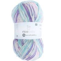 Rico Design Baby So Soft Print dk 100g 250m pink