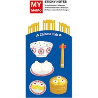 Rico Design Sticky Notes Chinarestaurant 100 Stück