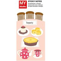 Rico Design Sticky Notes Teeparty 100 Stück