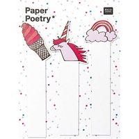 Paper Poetry Sticky Notes Mix 90 Stück