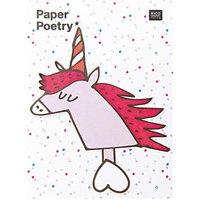 Paper Poetry Sticky Notes Einhorn 50 Blatt