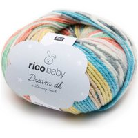 Rico Design Baby Dream Luxury Touch dk 50g 115m pastell Mix