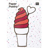 Paper Poetry Sticky Notes Eiscreme 50 Stück