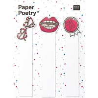 Paper Poetry Sticky Notes cool Girl 90 Stück