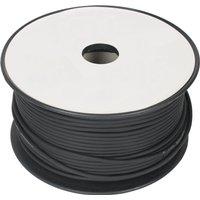 Microfoonkabel 2 x 0,08 mm� op rol 100 m zwart
