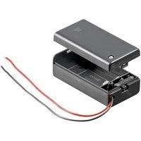 Blok batterij houder Met Aan-uit schakelaar
