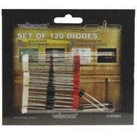 Assortiment van 120 diodes Velleman K-DIODE1