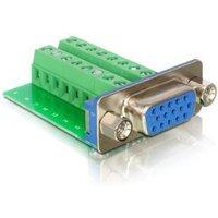 DeLOCK Adapter VGA female > Terminal Block 16pin (65170)