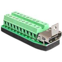 Adapter HDMI female Terminal Block Deze terminal blok naar-HDMI-adap