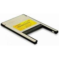 DeLOCK PCMCIA Card Reader 2 in 1 Compact Flash I-II IBM Microdrive Typ II P (91052)
