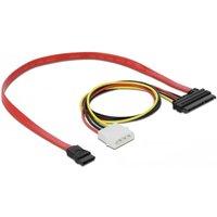 22-Polige SATA naar SATA kabel 0.4 meter