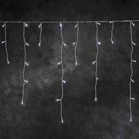 energie A+, LED-ijzel lichtketting 200 witte dioden voor buitengebruik, Konstsmide