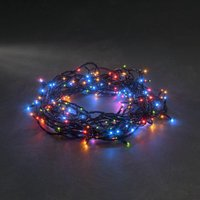 energie A+, Micro LED-lichtketting 8 functies + memoryfunctie 180 bonte dioden voor buitengebruik, K